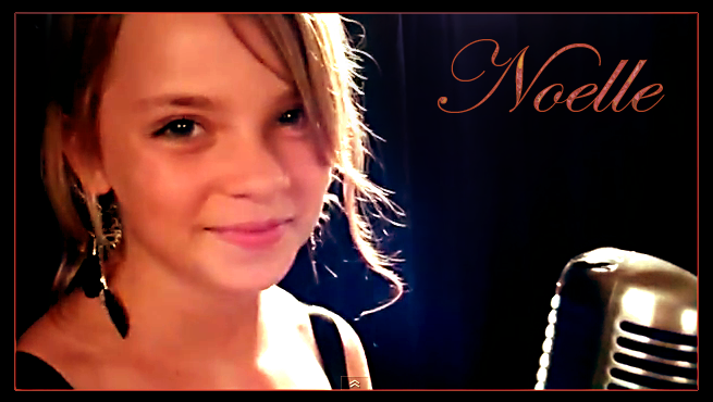 "Noelle Maracle - Screen Capture from her video/song:  ""The Prayer"""