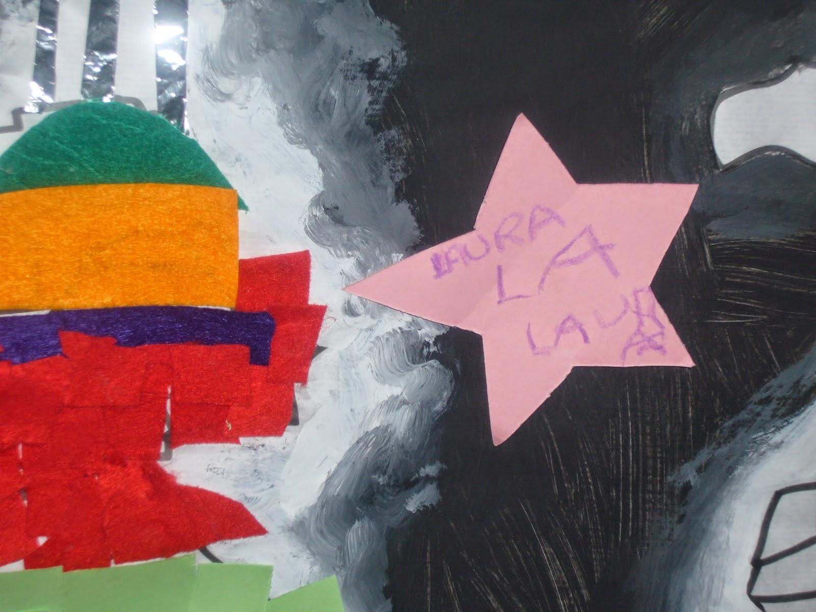 estrella de Laura del photocall 2