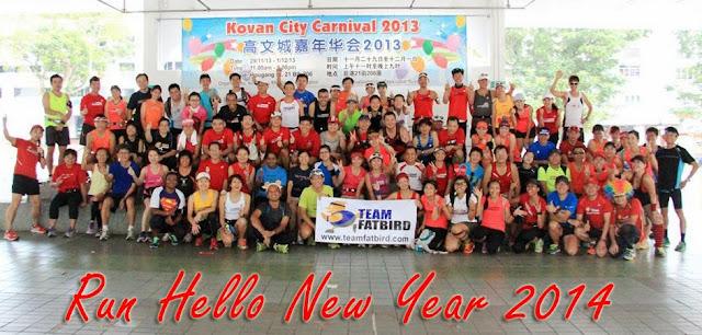 Run Hello New Year 2014