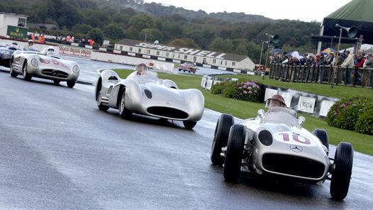 Homenaje a Fangio en Goodwood