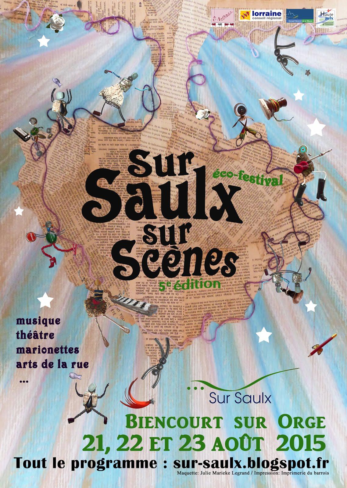 Festival Sur Saulx Sur Scènes 2015