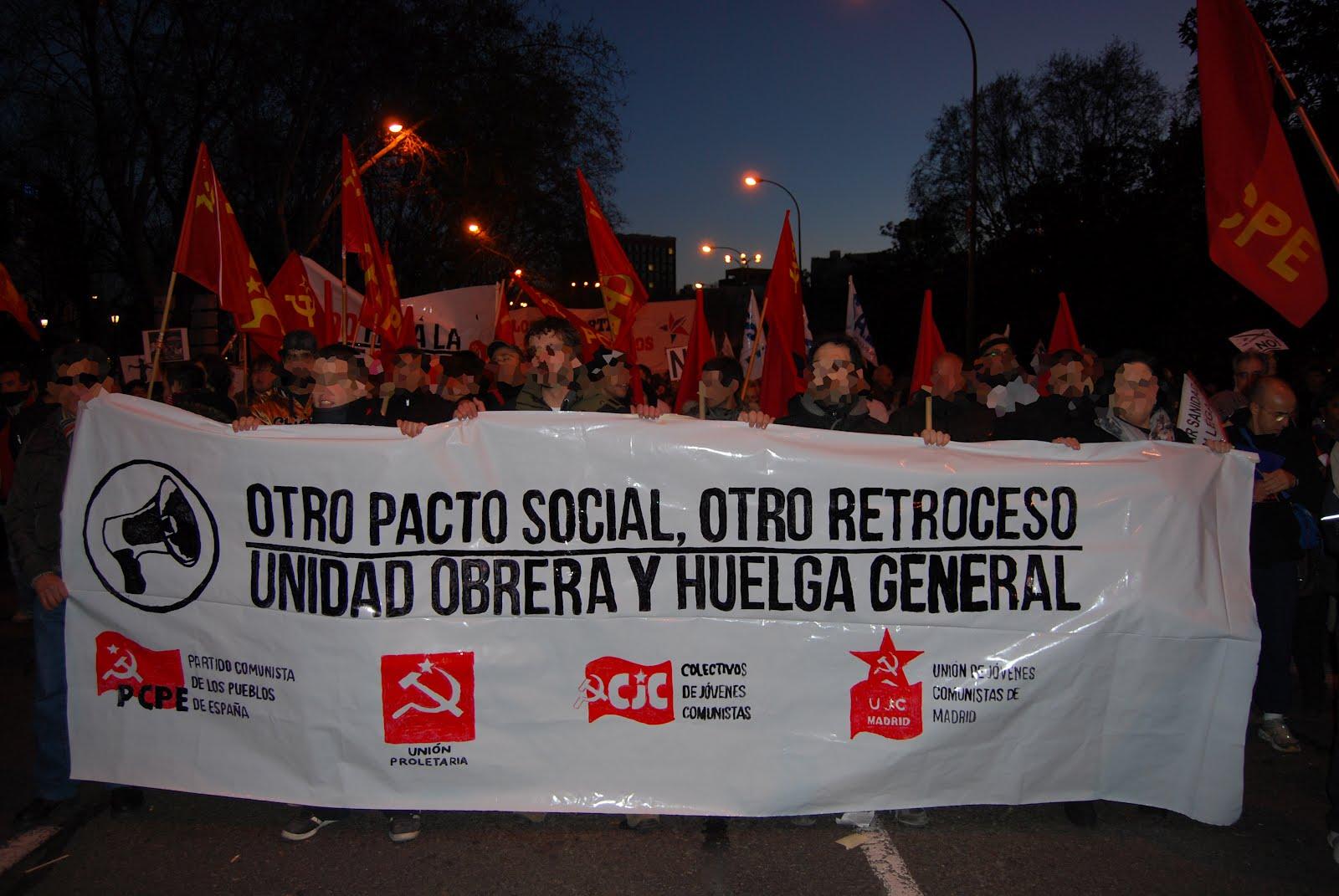 [Madrid] Bloque rojo contra los recortes Buena