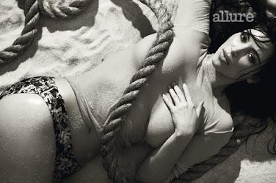 Ким Кардашиян с гореща фотосесия за Allure и нови мечти