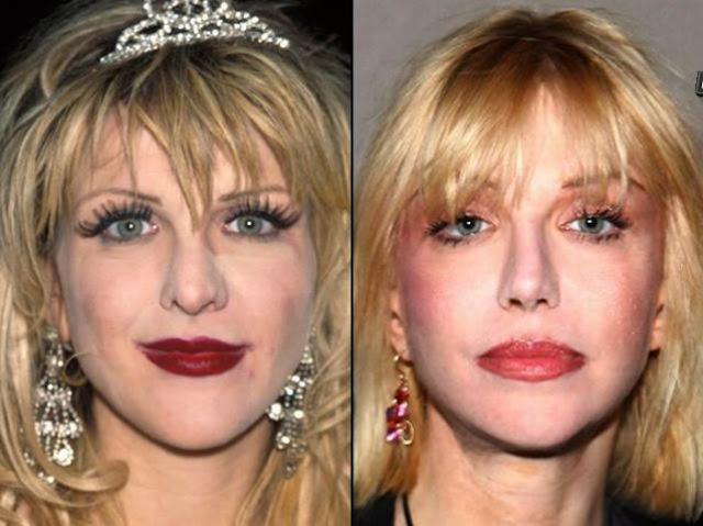 Courtney Love Antes y Despues