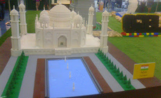 Lego, The Block, SM North, Taj Mahal