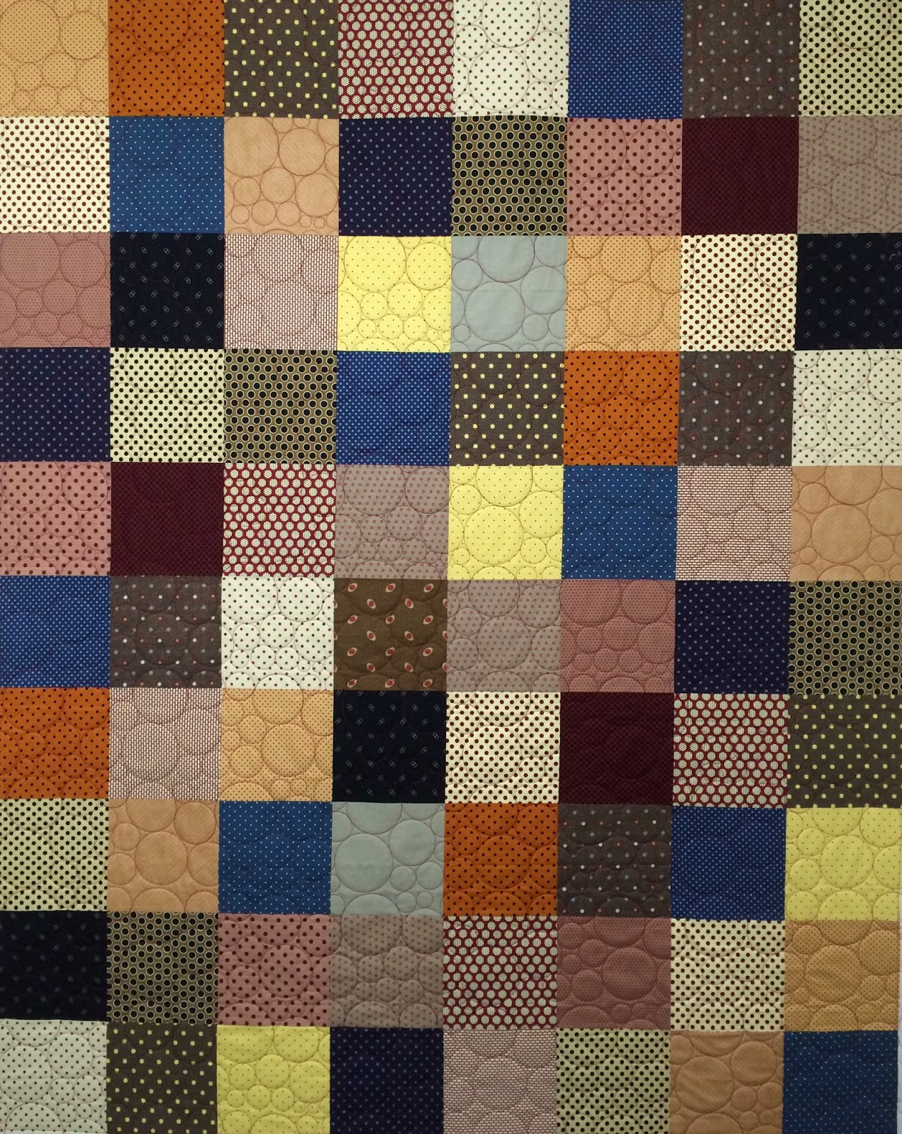 Mette Brown's Polka Dots Quilt