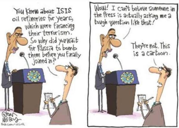 Karikatur beim 'angry arab'