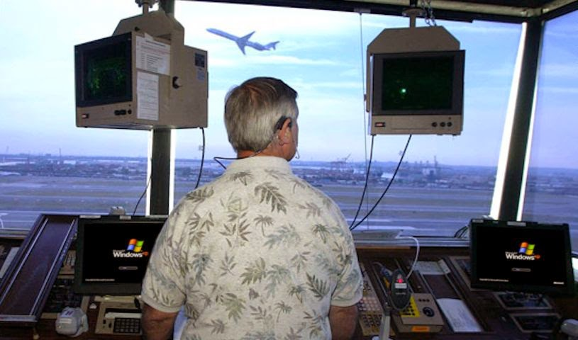 Air Traffic Control running Windows XP
