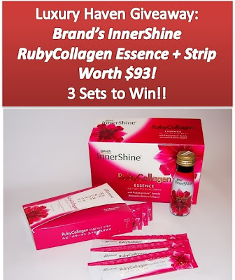 brands innershine ruby collagen essence giveaways