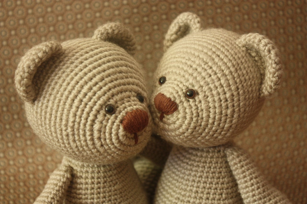 Free Crochet Patterns For Teddy Bear Sweaters : Happyamigurumi: New Teddy Bear PDF Pattern
