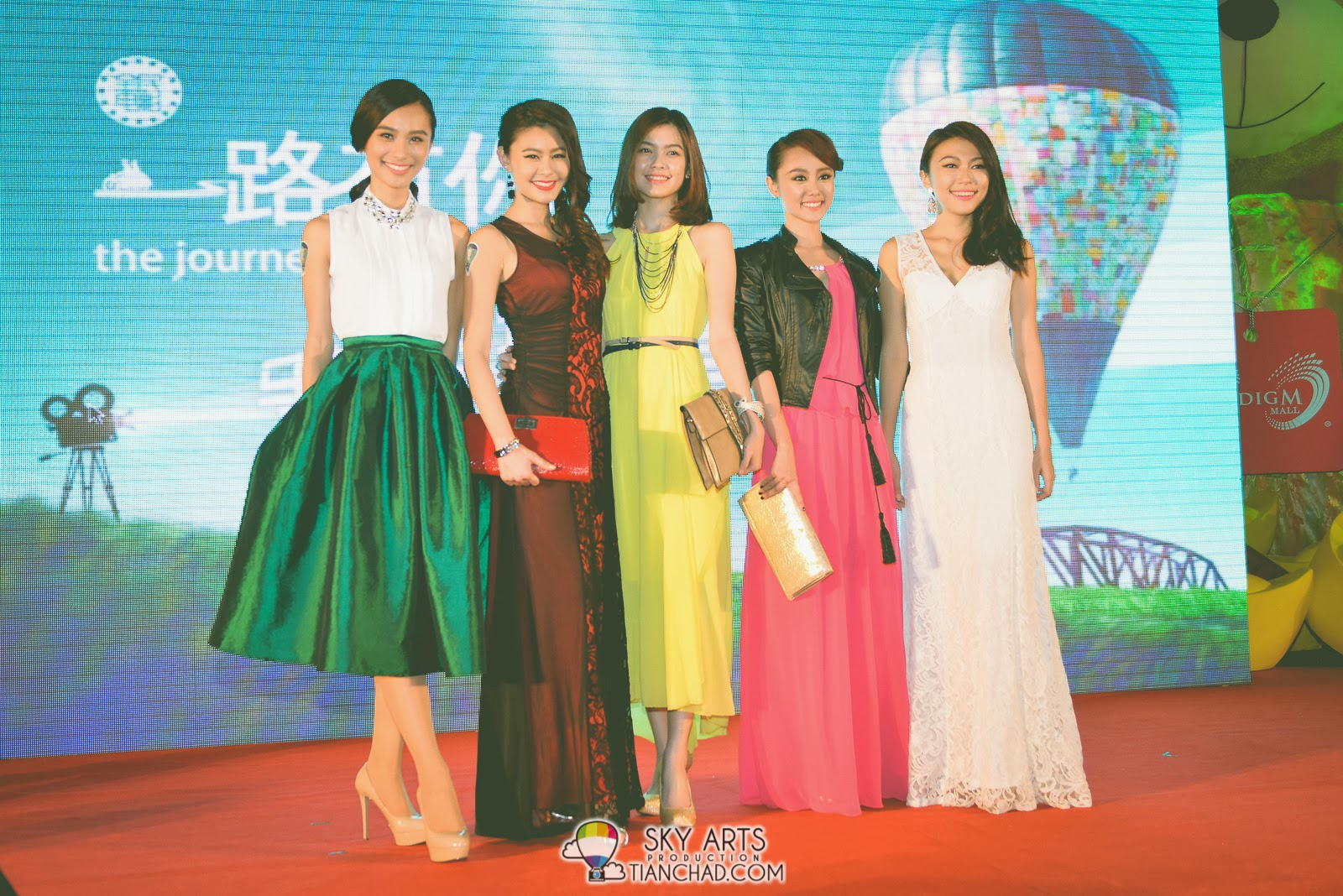 一路有你 The Journey Gala Premiere RedCarpet @ Paradigm Mall