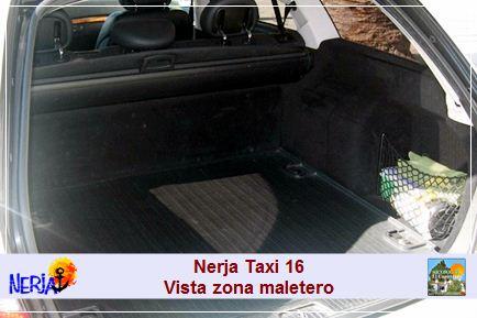 La principal ventaja del taxi es evidente, ir de puerta a puerta y el transporte del equipaje cómodamente.