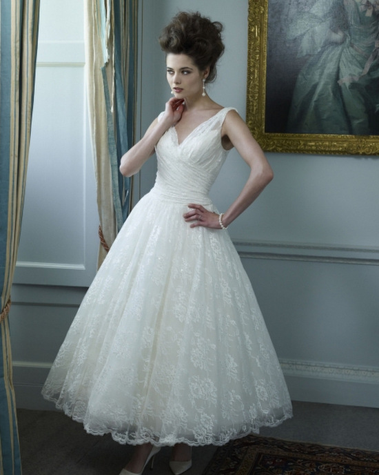 Wedding Dresses Tea Length Uk 92