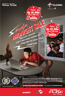 Telkomsel Midnight Flash UNLIMITED (FUN Night Unlimited)