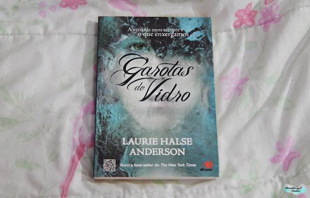 TO BE READ, TBR, MARATONA LITERARIA DE INVERNO, LEITURA, GROTAS DE VIDRO, LAURIE HALSE ANDERSON,
