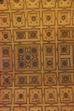 Ceiling pattern of Cathedral treasury, Sevilla