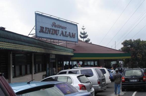 Wisata Kuliner Puncak Bogor | Restoran Rindu Alam