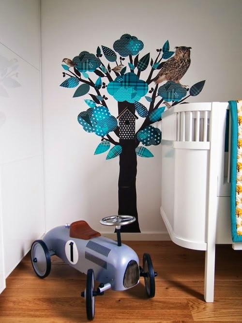 Ã¥pent hus: veggdekor til barnerommet / kids room wall deco