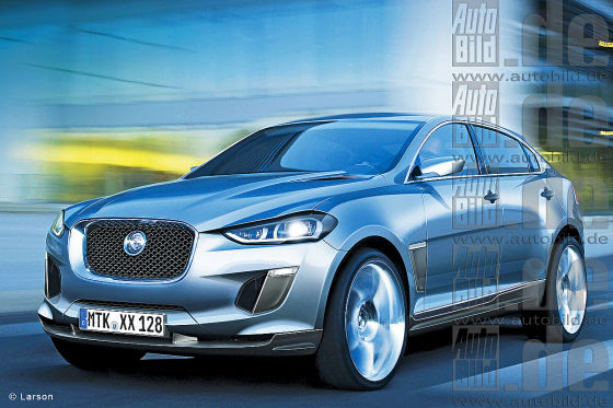 Jaguar plans for 2014 compact SUV first photos
