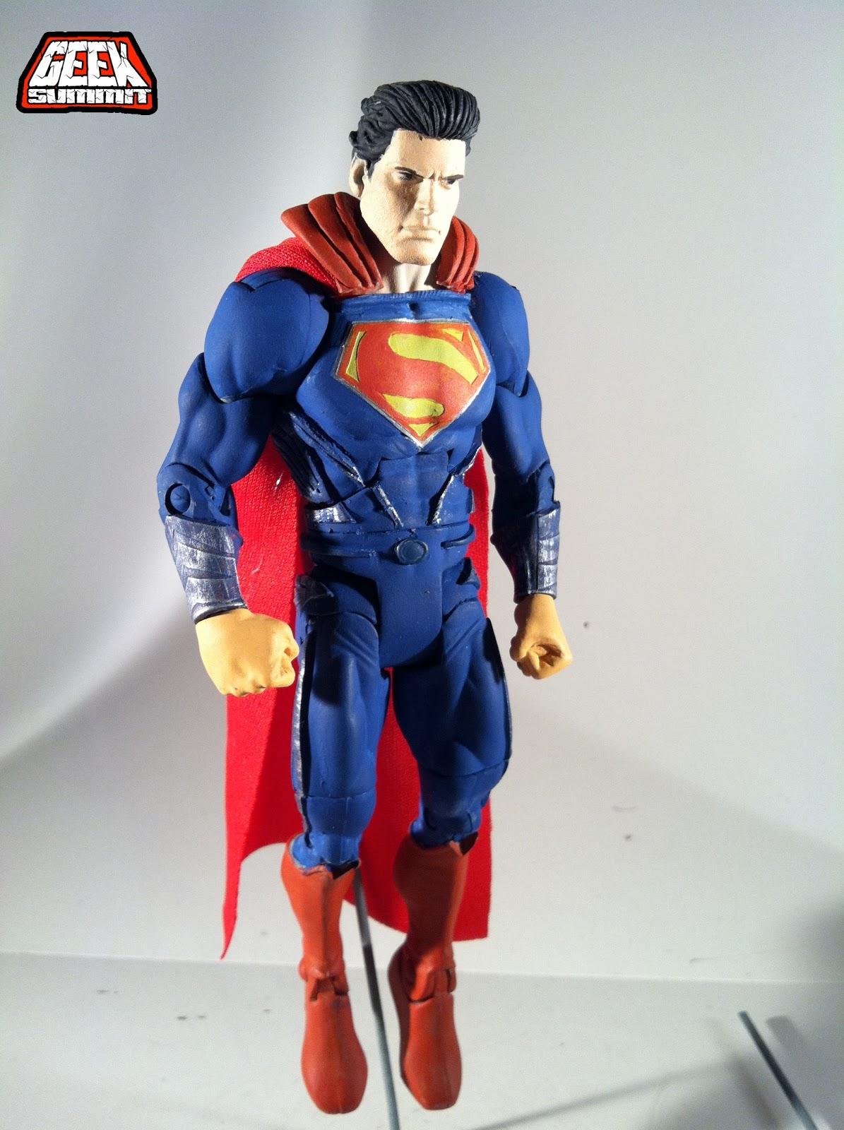 ... of Steel | Henry Cavill as Superman Custom Movie Masters Action Figure