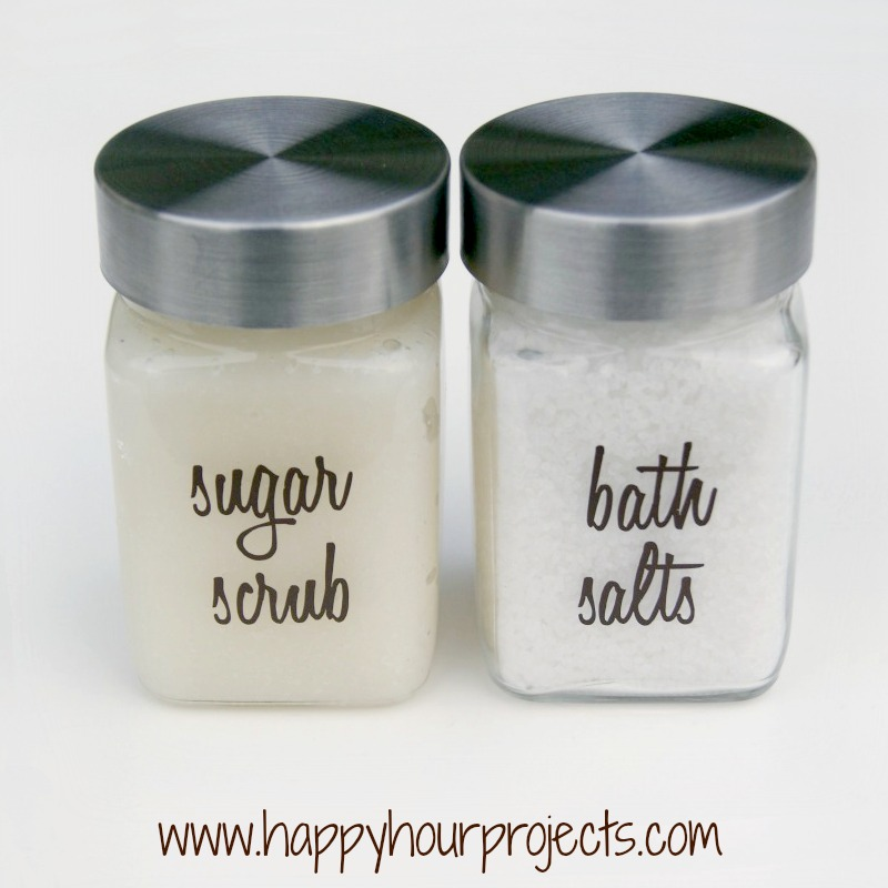 Homemade Sugar Scrub Happy Hour Projects