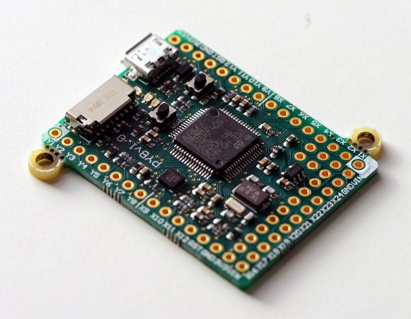 Micro Python Board prototype