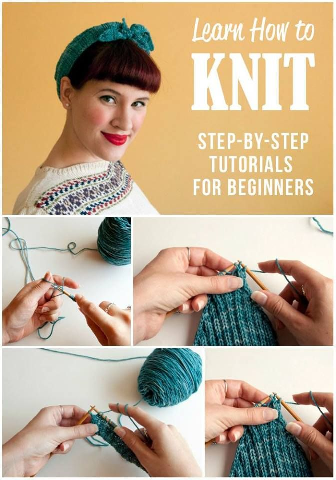 How to Knit: Step-by-Step Tutorials for Beginners Handy & Homemade
