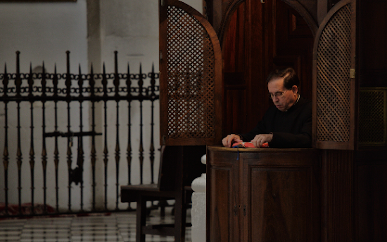 Que significa soñar con confesionario
