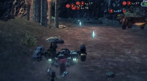 Xenoblade Chronicles X Skell Nintendo Treehouse Wii U vehicle travel
