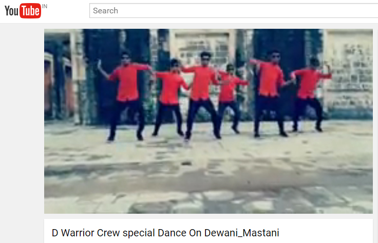 D Warrior Crew special Dance On Dewani_Mastani