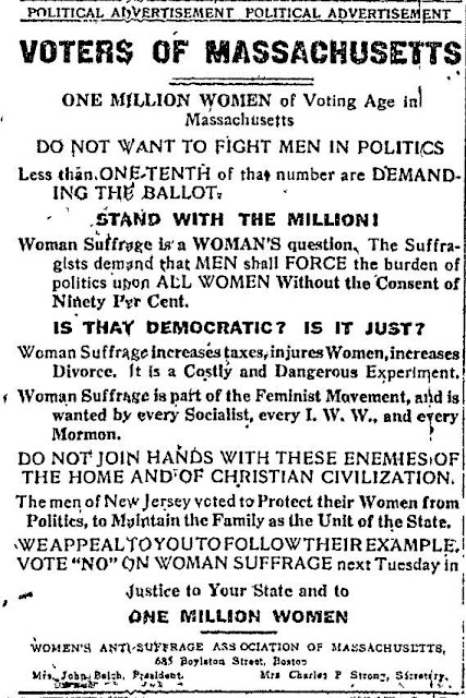 vintage anti-suffrage ad