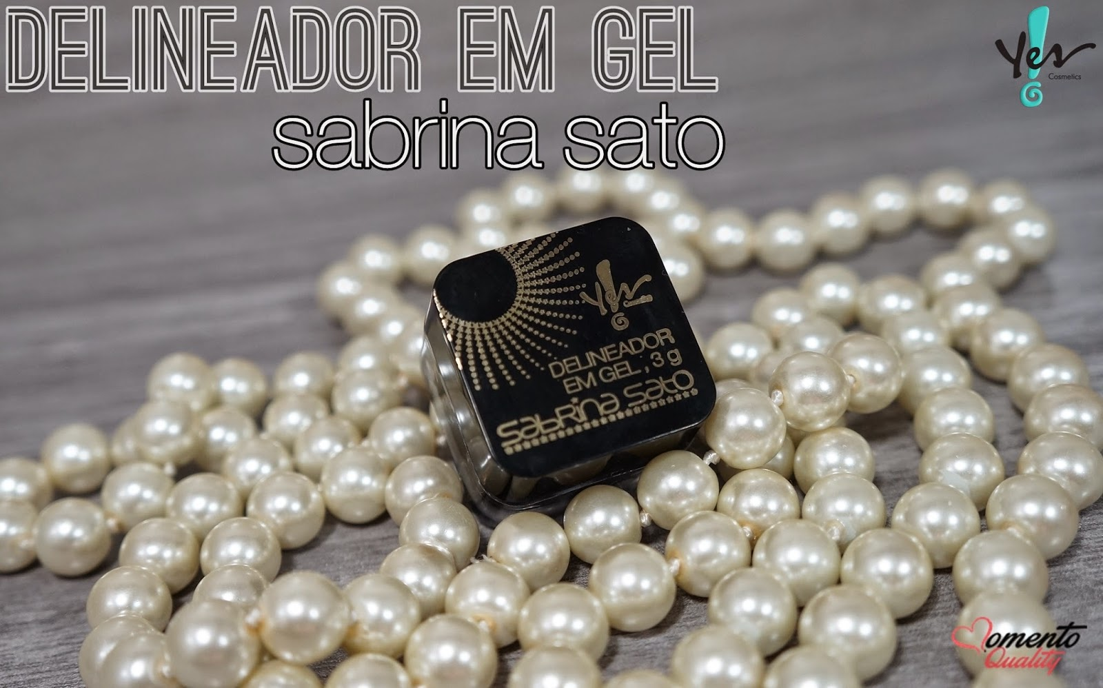 Delineador em Gel Sabrina Sato Preto