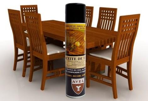 El blog de don mendo aceite para teka en aerosol - Aceite para muebles ...