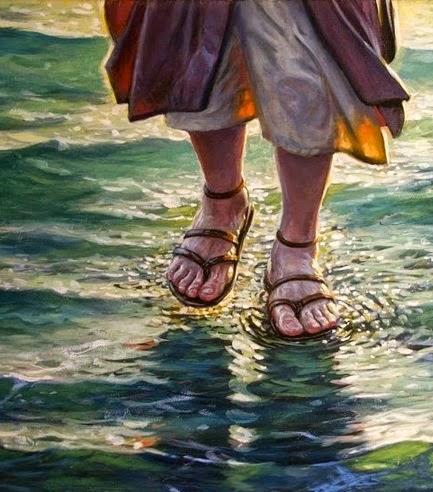 pilih mana bisa berjalan diatas air atau menundukkan hawa nafsu?