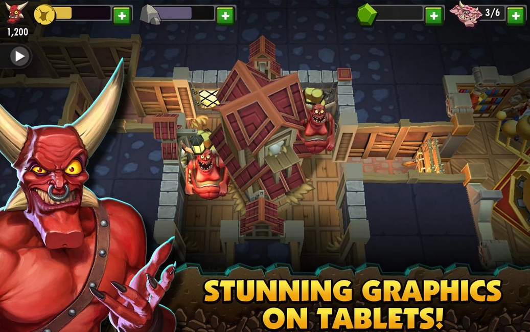 Dungeon Keeper (Free) - Android Game