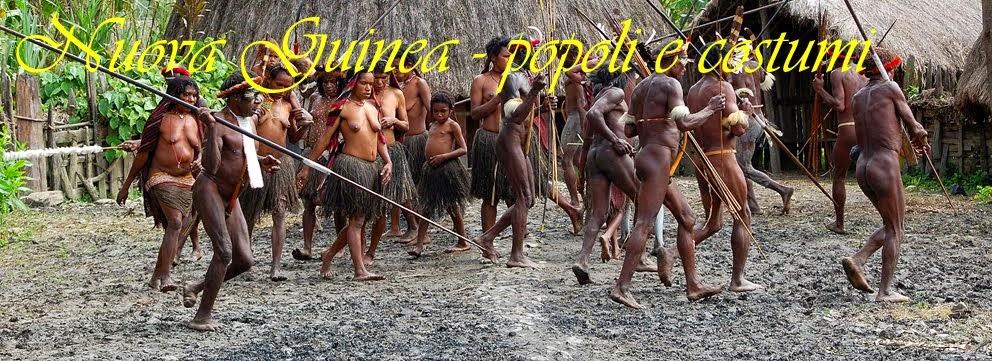Nuova Guinea - popoli e costumi