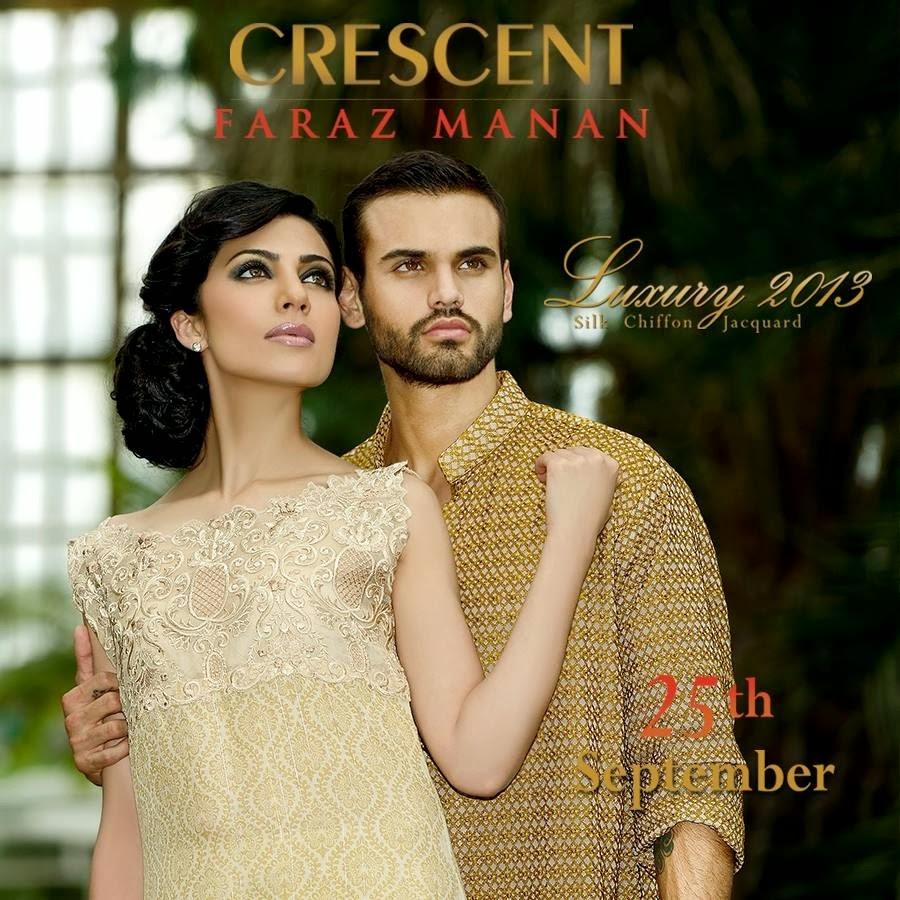 CRESCENTFarazMananLuxury2013 021 wwwFashionhuntworldblogspotcom - Crescent Faraz Manan Luxury Fall/Winter 2013-14