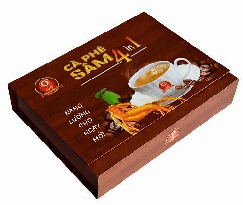 O' Coffee Ocewa Cà phê Sâm 4 in 1