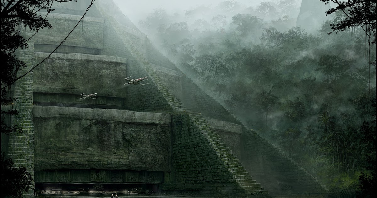 Mark Molnar Sketchblog Of Concept Art And Illustration Works Star Wars Temple Of Yavin 4 Search By Muzli