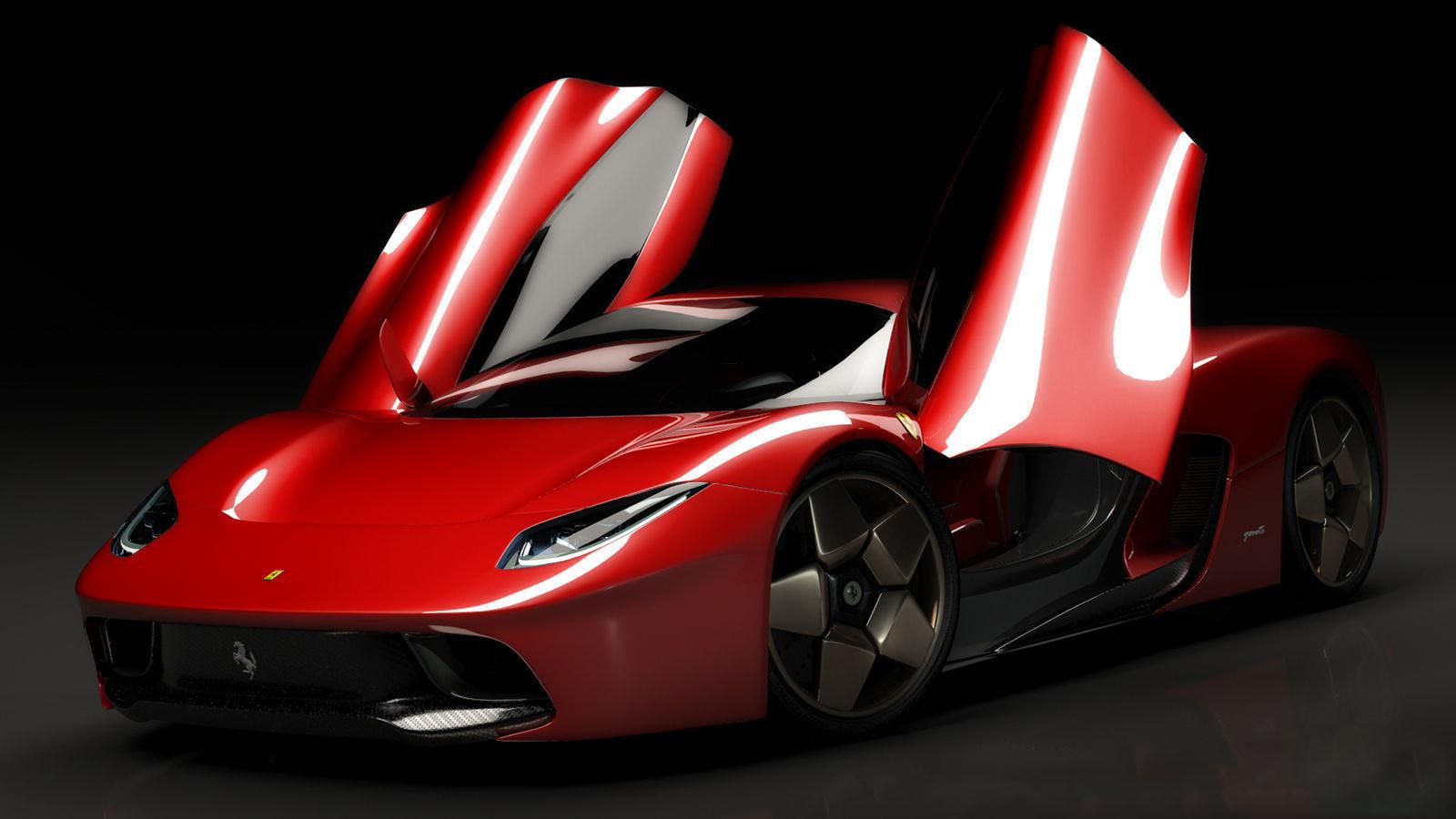 car i 2014 Ferrari GTE Concept Virtual por Angelo Granata