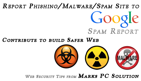 Google Spam Report