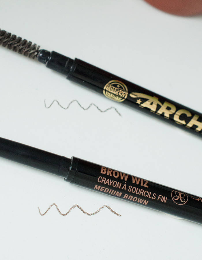BEAUTY: ANASTASIA BROW WIZ VS SOAP AND GLORY BROW ARCHERY