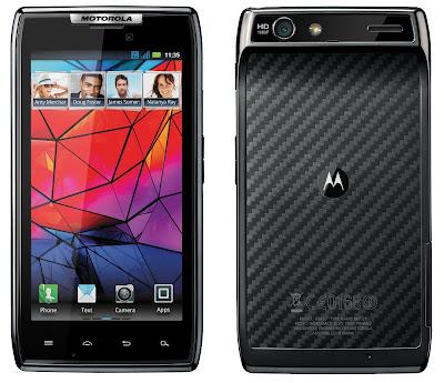 Motorola RAZR - Harga Spesifikasi Ponsel Android Processor Dual Core 1,2 GHZ - Berita Handphone
