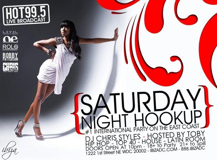 Saturday night hookup