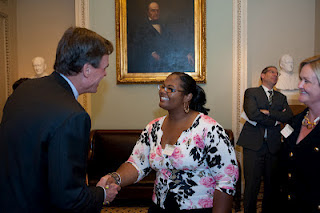 Meeting Senator Warner of Virginia