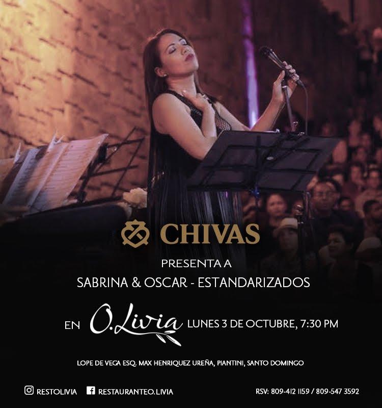 Chivas presenta Jazz en O.Livia - Lunes 3 de Octubre - 7:30PM