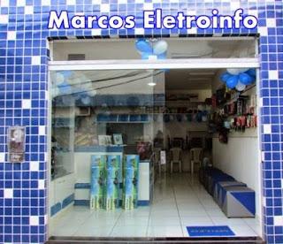 Marcos Eletro Acessórios - O futuro em nosso tempo! Rua: Dr. João Menezes Costa.