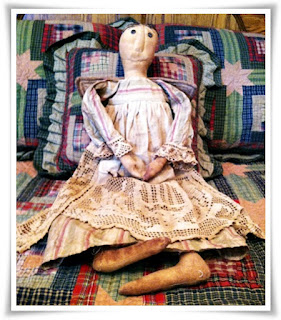 Primitive Doll Angel