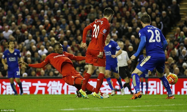 Liverpool 1 x 0 Leicester - Premier League 2015/16