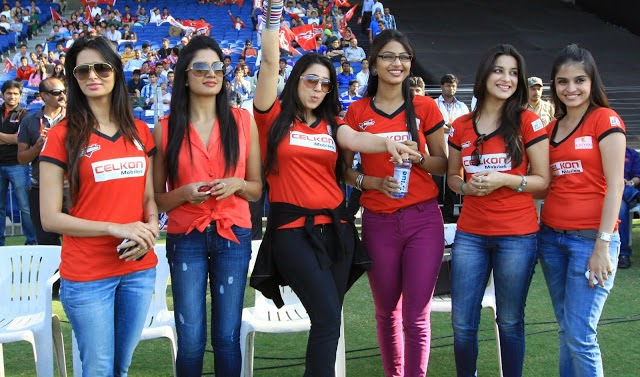 charmee kaur hot pics in ccl matches with her other friends telugu actresses